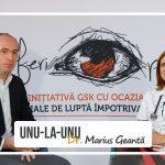 """Emisiunea """"Unu-la-unu cu Dr. Marius Geantă"""": Povestea omului care și-a legat destinul de lupta împotriva HIV – Conf. Dr. Cristiana Oprea"""
