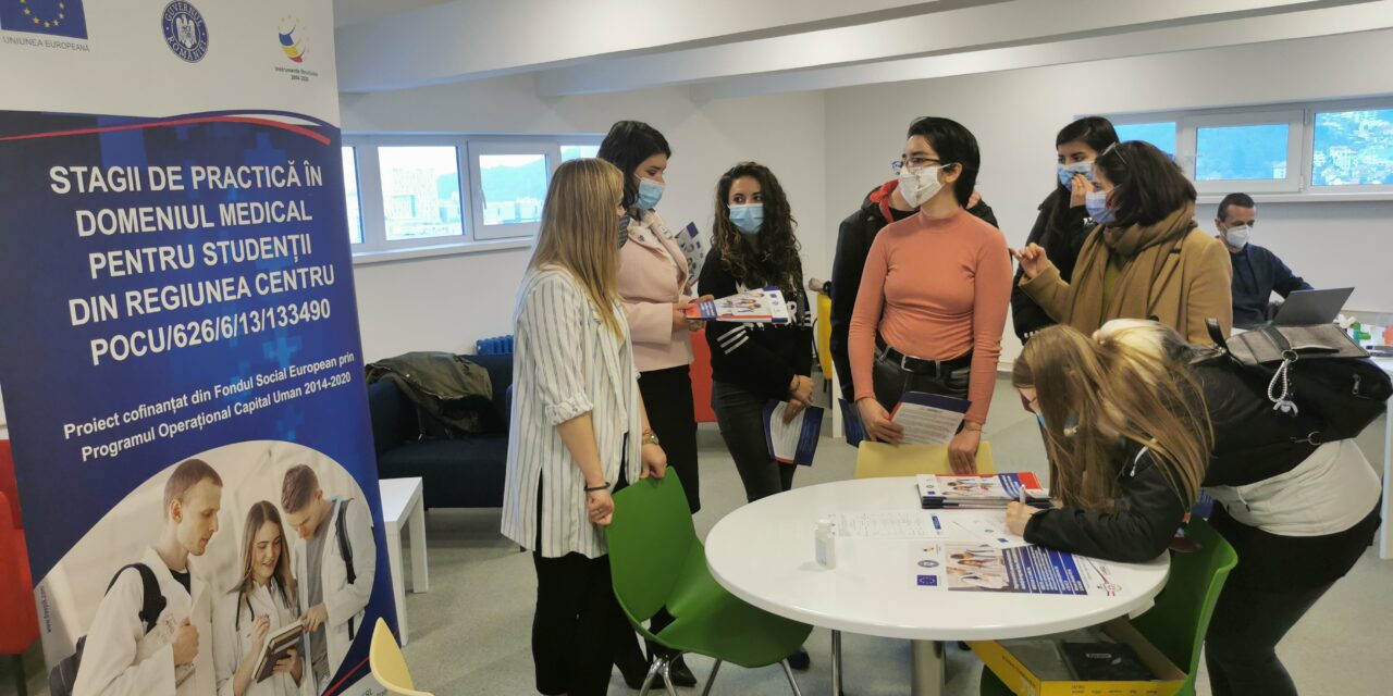 """Compania LIAMED a lansat etapa de preînscriere în proiectul """"Stagii de practică în domeniul medical pentru studenții din Regiunea Centru"""" (CodMySmis: 133490)"""