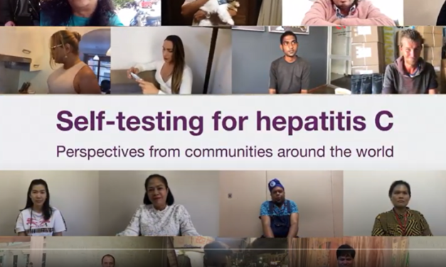 OMS a publicat primele instrucțiuni privind autotestarea pentru virusul hepatitei C